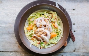 chicken-cabbage-and-tangerine-salad